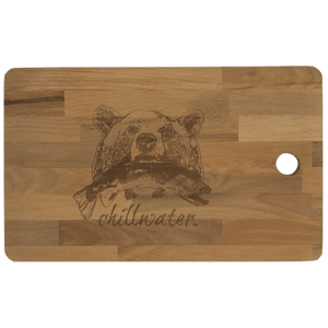 Extra Large Cutting Board - Chillwater Riverside Grizzly