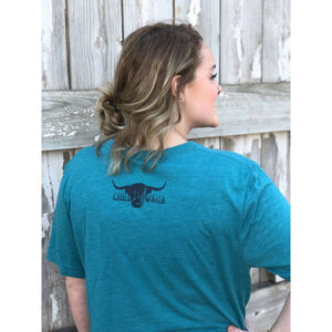 Short Sleeve V-Neck Super Soft - Highlander; Multiple Colors