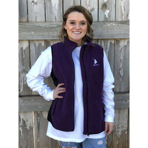 Women's Fleece Vest - Classic Kayak