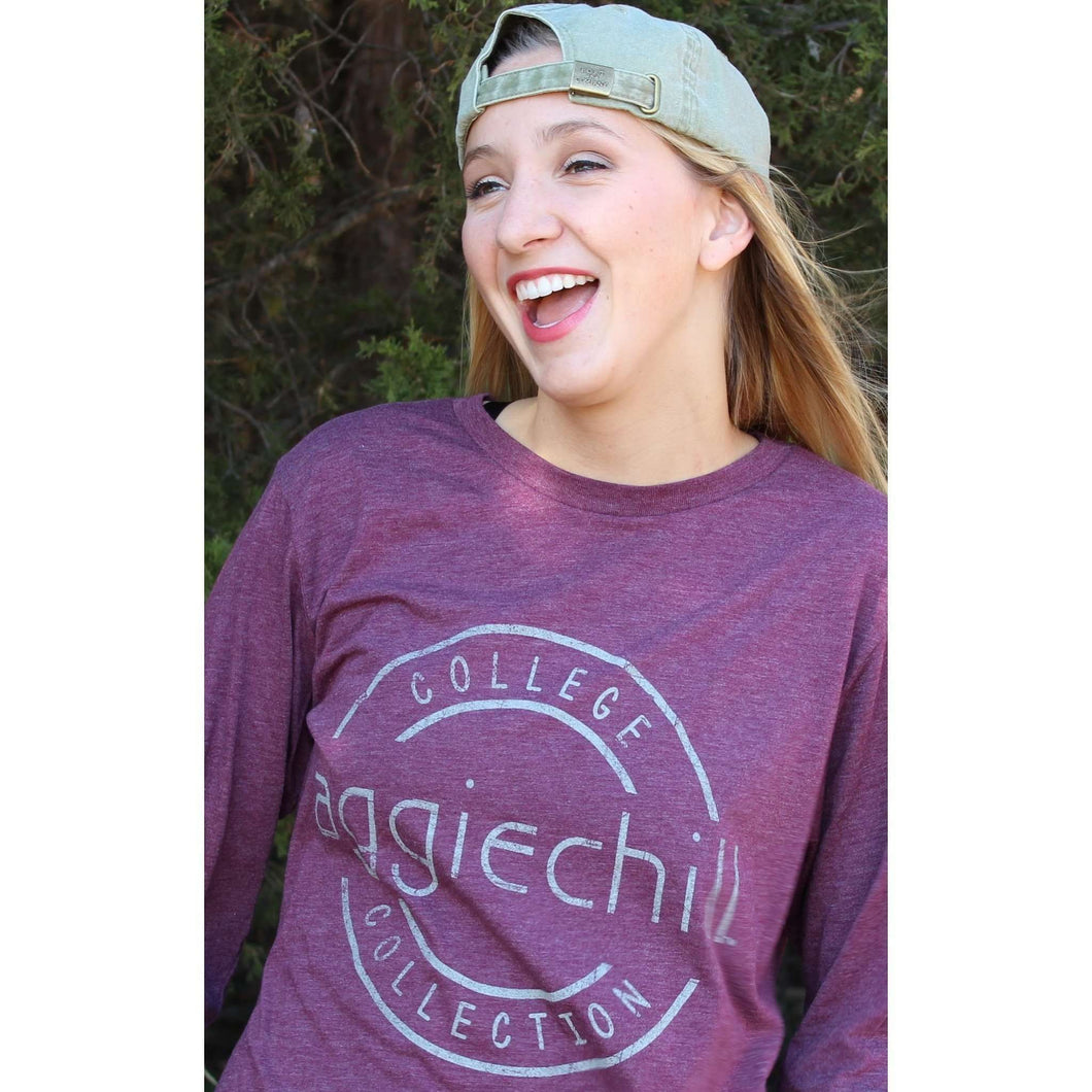Long Sleeve T-Shirt Super Soft - Aggiechill