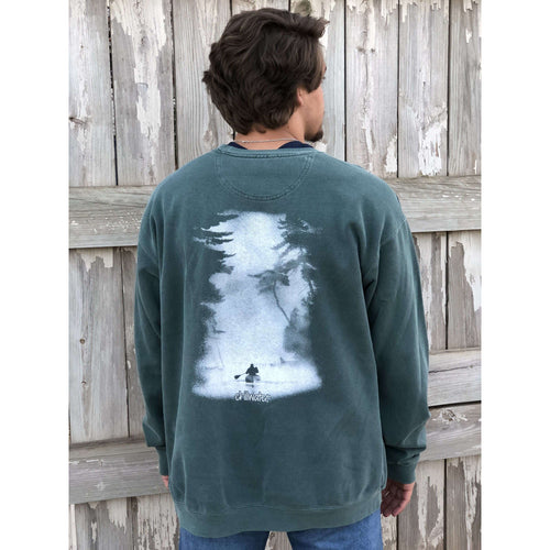 Sweatshirt Comfort Color - Classic Kayak; Multiple Colors