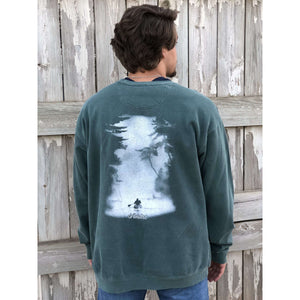 Comfort Color Sweatshirt - Classic Kayak; Multiple Colors