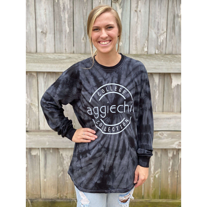 NEW Tie Dye Long Sleeve T-Shirt - Aggiechill