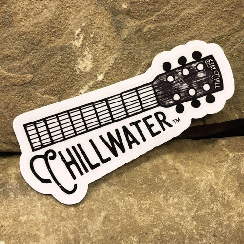 Acoustic Guitar Sticker #2
