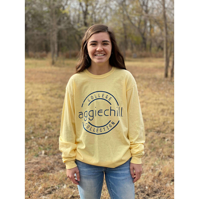 Comfort Color Long Sleeve T-Shirt - Aggiechill