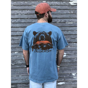 Comfort Color Short Sleeve T-Shirt - Riverside Grizzly; Multiple Colors