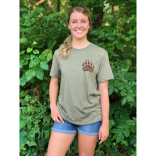 Short Sleeve T-Shirt Super Soft - Riverside Grizzly; Multiple Colors