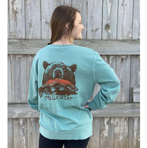 NEW Comfort Stretch Sweatshirt - Riverside Grizzly; Multiple Colors