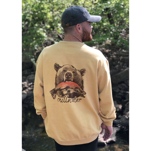 Comfort Color Sweatshirt - Riverside Grizzly; Multiple Colors