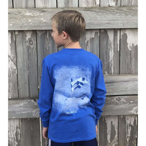 YOUTH Long Sleeve T-Shirt Super Soft - Airborne