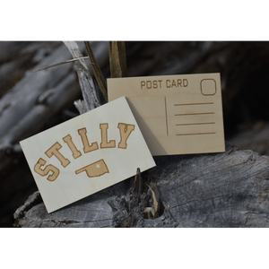 Wooden Post Card - Stilly