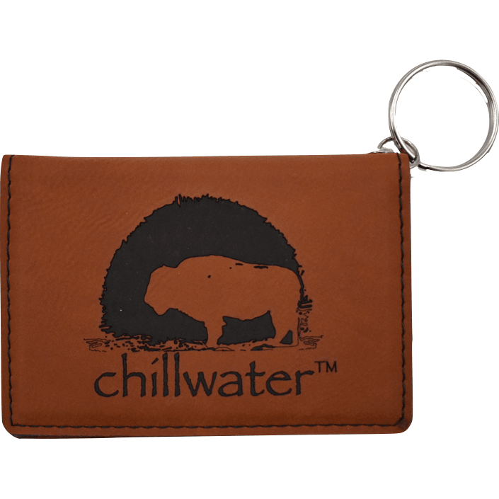 Keychain Leather Wallet - Buffalo