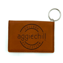 Keychain Leather Wallet - Aggiechill