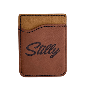 Phone Leather Card Holder - Stilly