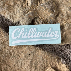 Vintage Chill White Transfer Sticker