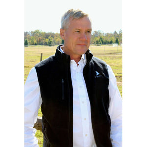Unisex Fleece Vest - Classic Kayak; Multiple Colors