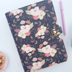 Dark Floral A5 Planner from Chasing Planner Peace