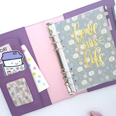 Purple Planner from Chasing Planner Peace