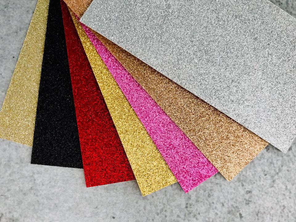 Glitter Cardstock Colour Choices