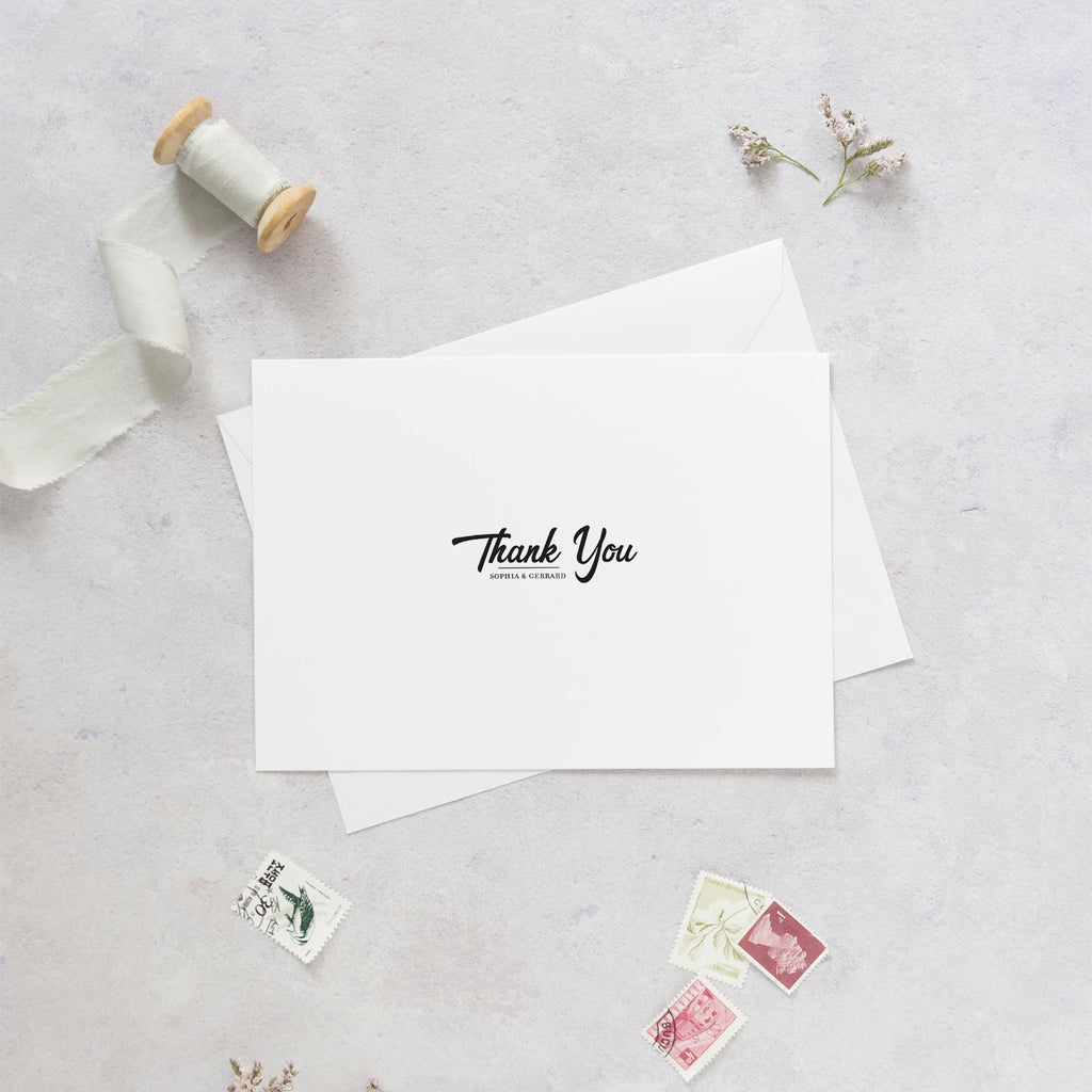 Unique Wedding Thank You Cards