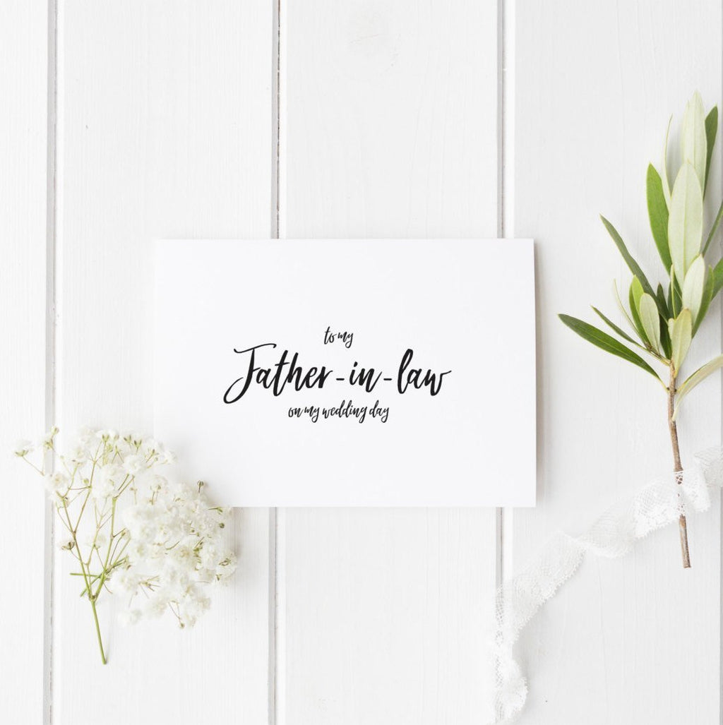 Dolkens Invitations Wedding Cards Minimal Wedding Day Card for Family Members