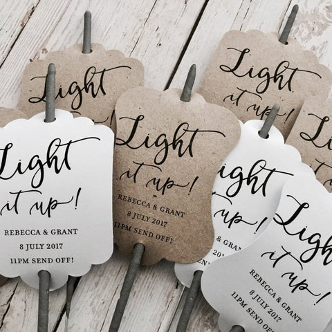 Light it up Tags