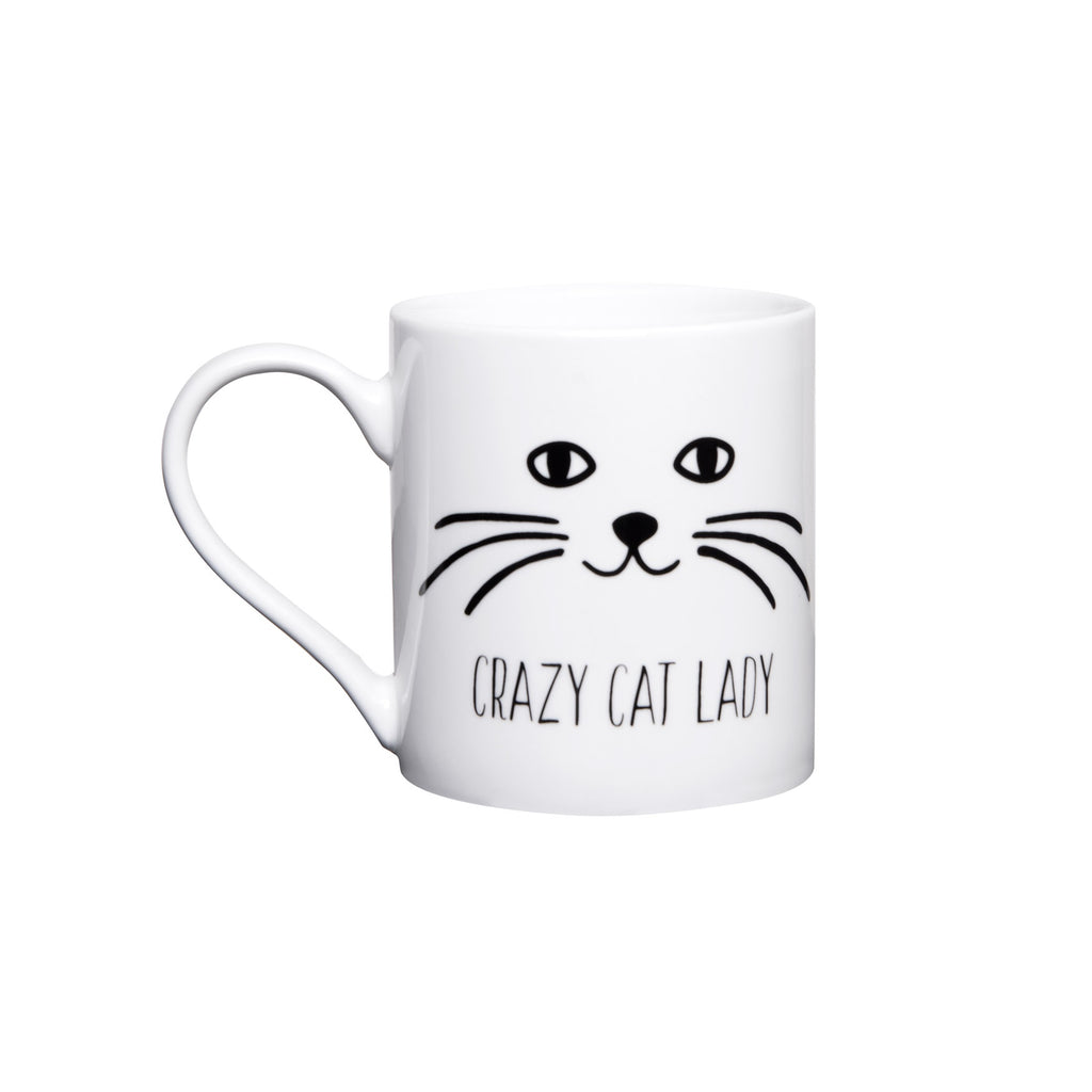 General Eclectic | Crazy Cat Lady Mug | Shut the Front Door