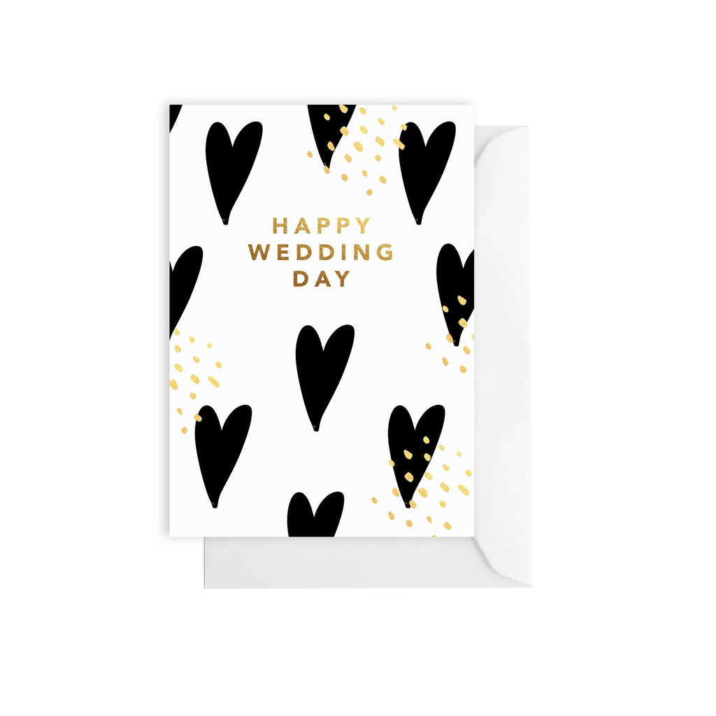 Elm Paper | Card Wedding Hearts | Shut the Front Door