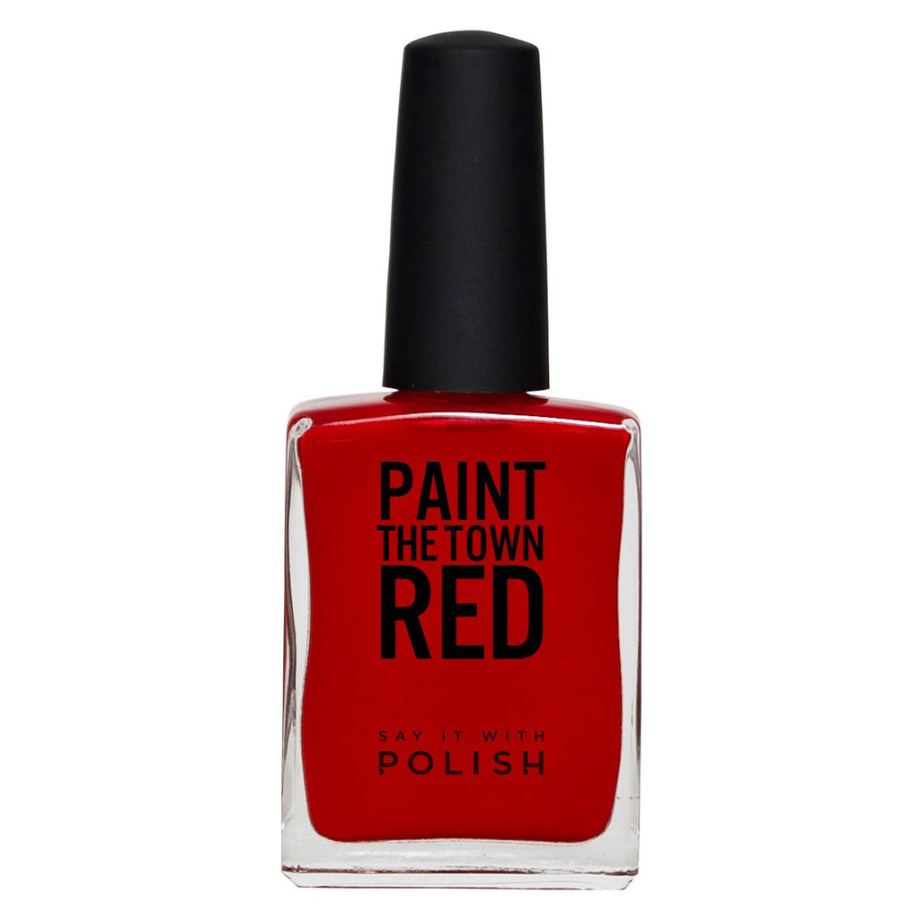 Say It With Polish | PAINT THE TOWN RED - Beets Me Red | Shut the Front Door