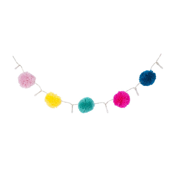 Sunnylife | Pompom String Lights - Super Fly | Shut the Front Door