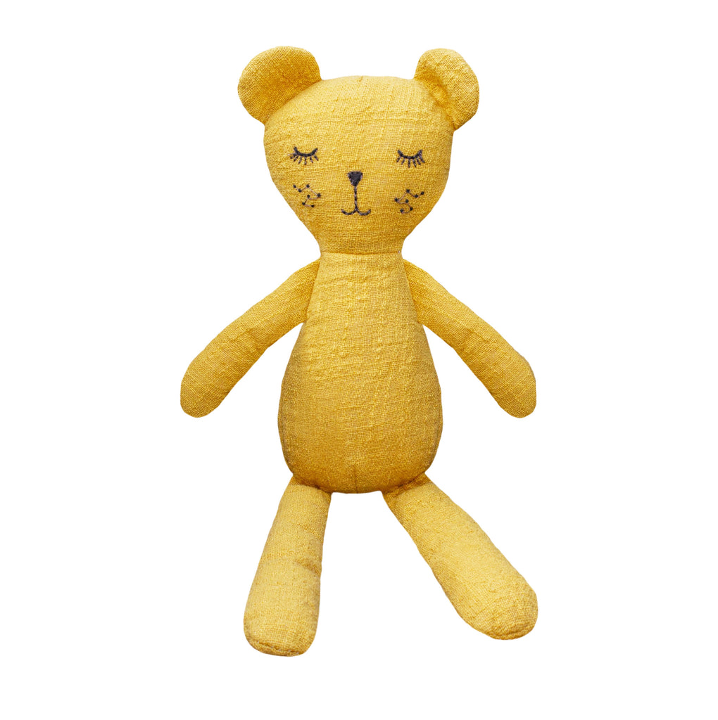Lily and George | Mustard the Bear Toy | Shut the Front Door