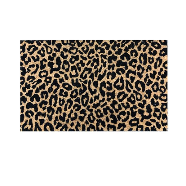 General Eclectic | Doormat - Leopard | Shut the Front Door