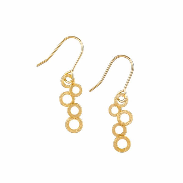 Tiger Tree | Earrings Gold Bubble | Shut the Front Door
