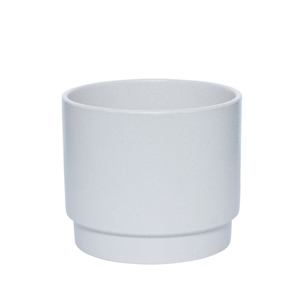 Milk & Sugar | Sawyer Plant Pot Medium Soft White | Shut the Front Door