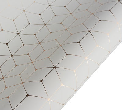 hiPP | Hex Wrapping Paper - Creme & Gold | Shut the Front Door