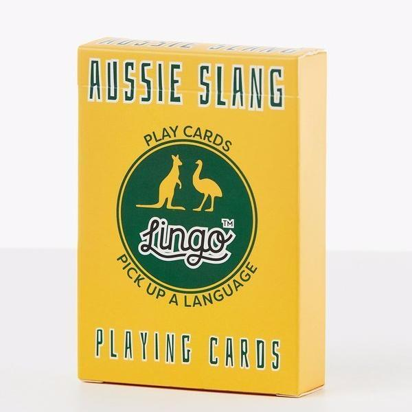 Lingo | Lingo Playing Cards - Aussie Slang | Shut the Front Door