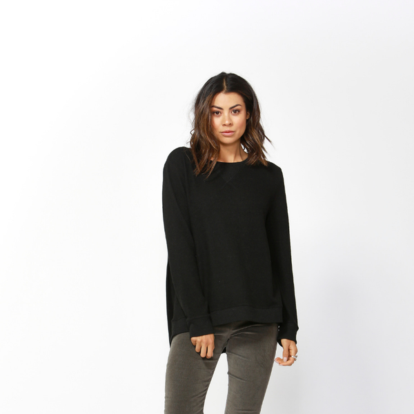 Ryder Cosy Sweater - Black