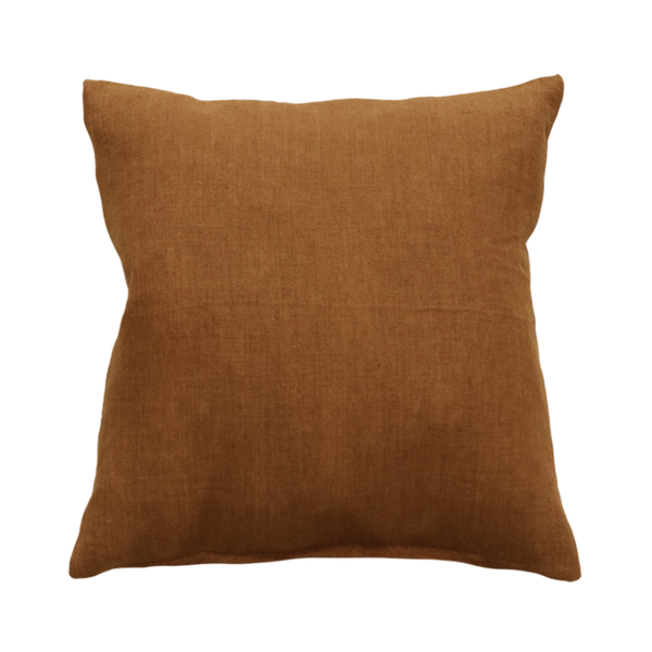 Mulberi | Indira 55x55cm Cushion - Tobacco | Shut the Front Door