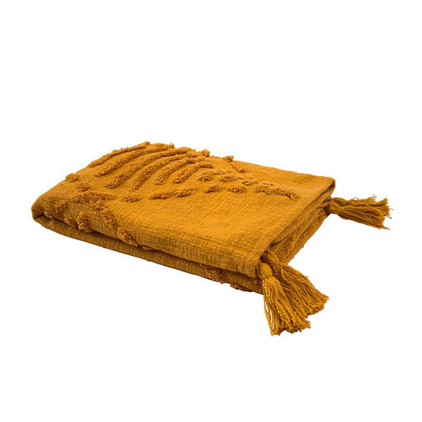Bambury | Quinn Throw - Ochre | Shut the Front Door