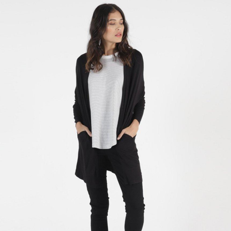 Betty Basics | Como Cardigan - Black | Shut the Front Door