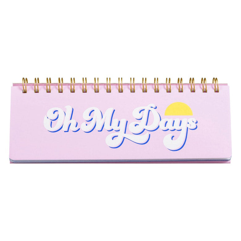 Haka | Oh My Day Weekly Desk Planner | Shut the Front Door