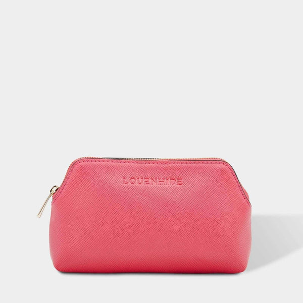 Louenhide | Scout Cosmetic Pouch - Berry Pink | Shut the Front Door