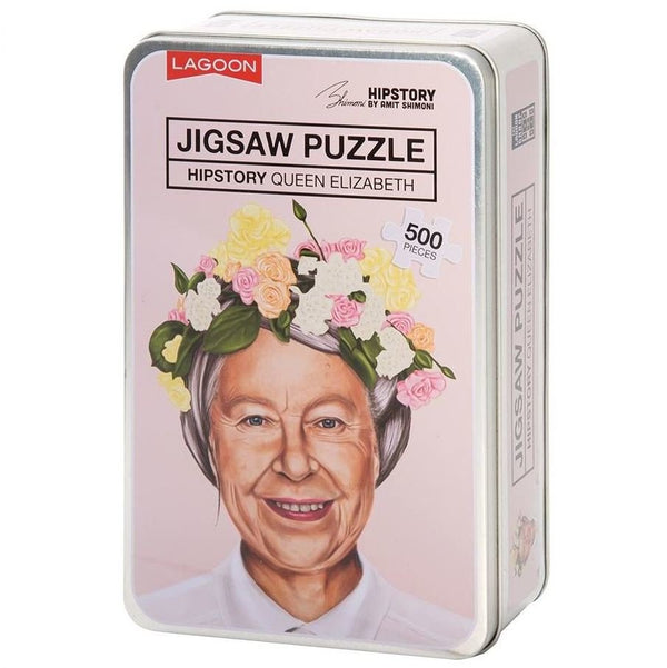 Hipstory | Hipstory Jigsaw Queen Elizabeth | Shut the Front Door