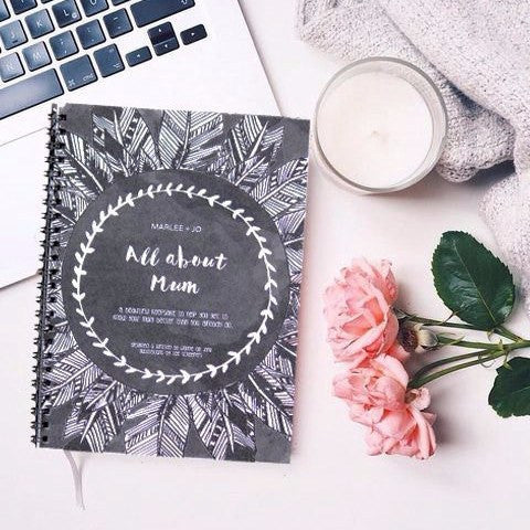 Marlee + Jo | All About Mum Record Book | Shut the Front Door