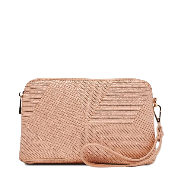 Louenhide | Mandy Clutch Pink Champagne | Shut the Front Door