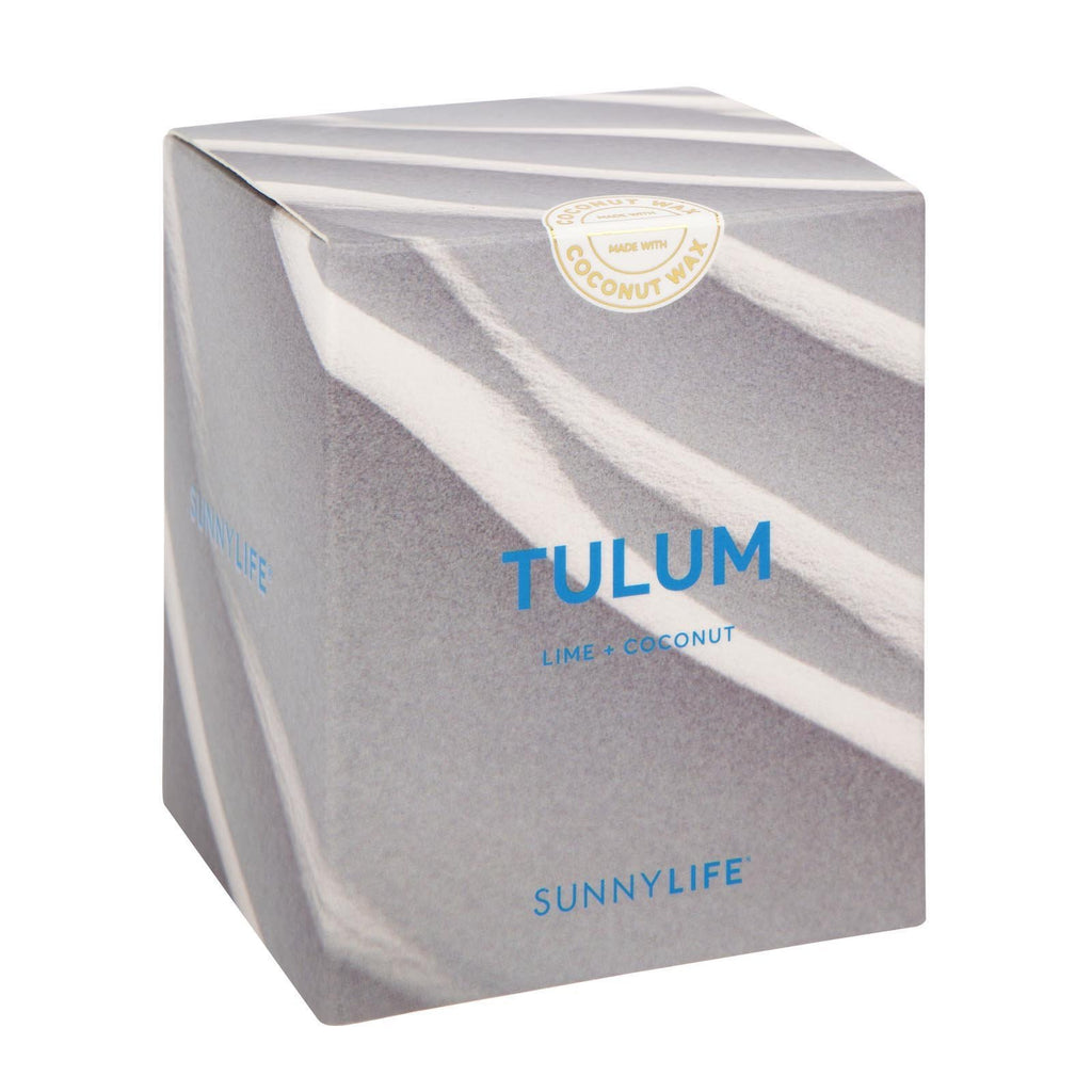 Sunnylife | Coconut Wax Scented Candle - Large - Tulum | Shut the Front Door