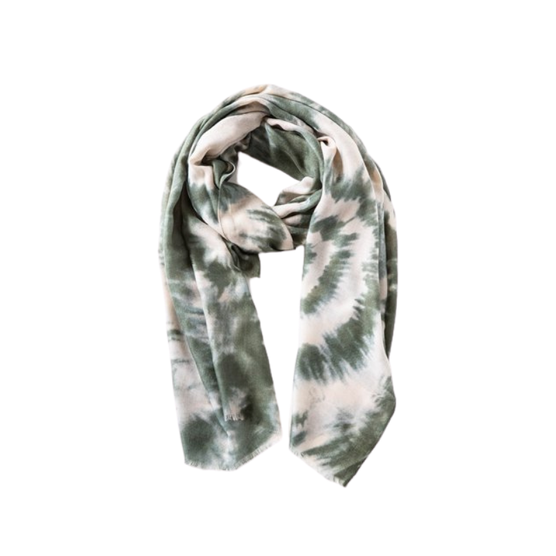 Antler NZ | Tie Dye Scarf - Khaki | Shut the Front Door