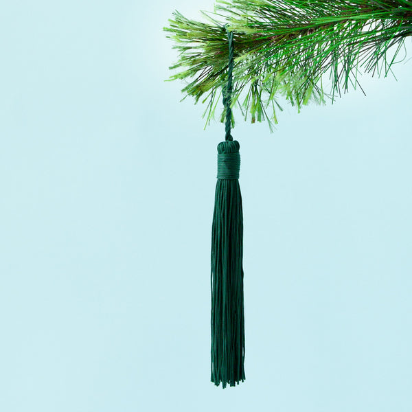 Down to the Woods | Tassel in Pine Green | Shut the Front Door