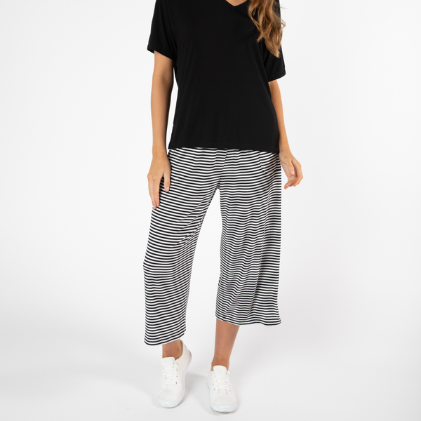 Betty Basics | Luqa Pant - Black & White | Shut the Front Door