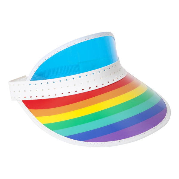 Sunnylife | Retro Sun Visor - Rainbow | Shut the Front Door